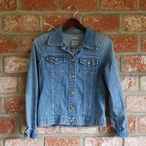 Old navy stretch jean jacket